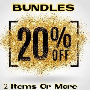 Bundle 2+ Save 20%🛍️